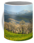 Flowering Almond At The Mountains Coffee Mug