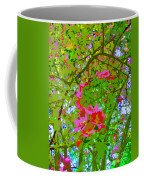 Flowering Blossoms Tree Paint Style Coffee Mug