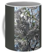 Flowering Cherry - White Coffee Mug