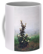 Flowering Chrysanthemum With Worker Coffee Mug