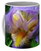 Flowering Iris Coffee Mug