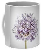 Flowering Onion Flower Coffee Mug