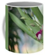 Flowering  Orchid Stem Coffee Mug
