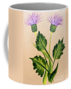 Flowering Thistle Coffee Mug
