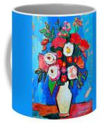 Flowers And Colors Coffee Mug by Ana Maria Edulescu