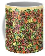 Flowers And Foliage  Coffee Mug