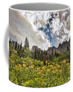Flowers And Mountains And Sky...oh My Coffee Mug
