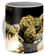 Organic Flowers And Vase Coffee Mug