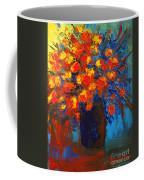 Flowers Are Always Welcome IIi Coffee Mug by Patricia Awapara
