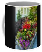 Flowers At Entrance Coffee Mug