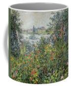 Flowers At Vetheuil Coffee Mug