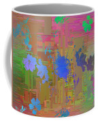 Flowers Cubed 1 Coffee Mug