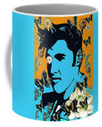 Flowers For The King Of Rock And Roll Coffee Mug