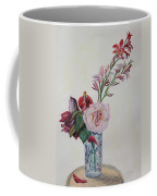 Flowers In A Crystal Vase Coffee Mug