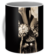 Flowers In A Jar Coffee Mug by Marco Oliveira