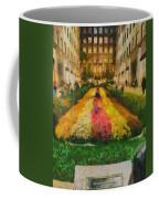 Flowers In Rockefeller Plaza Coffee Mug