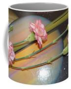 Flowers In Space Coffee Mug