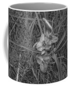 Flowers In Spring Black And White Coffee Mug