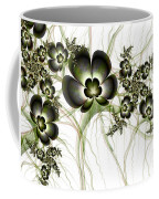 Flowers In The Antique Look Coffee Mug