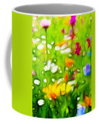 Flowers In The Garden Coffee Mug