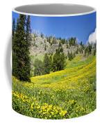 Flowers In The Park Coffee Mug