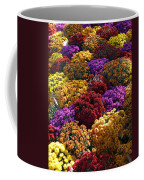 Flowers Near The Grand Palais Off Of Champ Elysees In Paris France   Coffee Mug