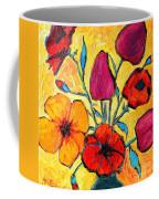 Flowers Of Love Coffee Mug by Ana Maria Edulescu