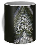 Flowers On A Grave Stone Coffee Mug by Edward Fielding