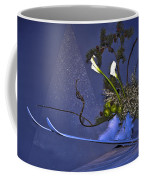 Flowers On Skis Coffee Mug