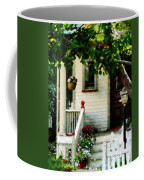 Flowers On Steps Coffee Mug
