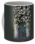 Flowers On The Door Coffee Mug