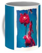 Flowers On Watercolor Paper Coffee Mug