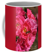 Flowers-roses-pink-bee Coffee Mug