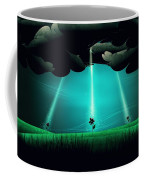 Flowers Under The Clouds Coffee Mug by Gianfranco Weiss