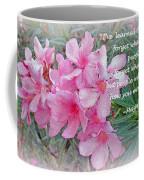 Flowers With Maya Angelou Verse Coffee Mug