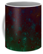 Flowery Night Sky Coffee Mug