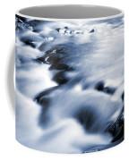 Flowing Stream Coffee Mug by Les Cunliffe