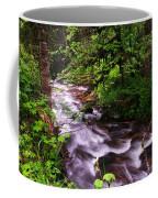 Flowing Through The Forest Coffee Mug