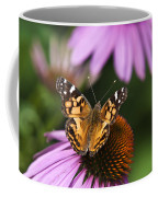 Fluttering Breeze Butterfly Coffee Mug by Christina Rollo