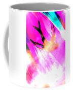 Fly Away Home Abstract Coffee Mug