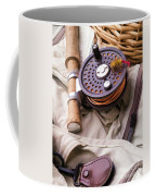 Fly Fishing Still Life Coffee Mug