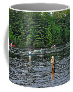 Fly Fishing West Penobscot River Maine Coffee Mug