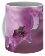 Fly On A Rhododendron Coffee Mug