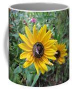 Fly On Rudbeckia Coffee Mug