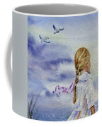 Fly With Us Coffee Mug