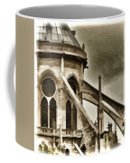 Flying Buttress At Notre Dame Coffee Mug