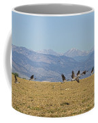 Flying Canadian Geese Colorado Rocky Mountains 1 Coffee Mug