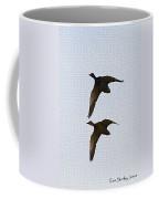 Flying Fast Ducks Coffee Mug