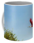 Flying Flamingo Coffee Mug