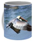 Flying Florida Pelican Coffee Mug